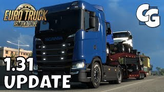 ETS2 - 1.31 Update - Random Events, Trailer Cables, and More - ETS2 Vanilla Gameplay (No Mods)