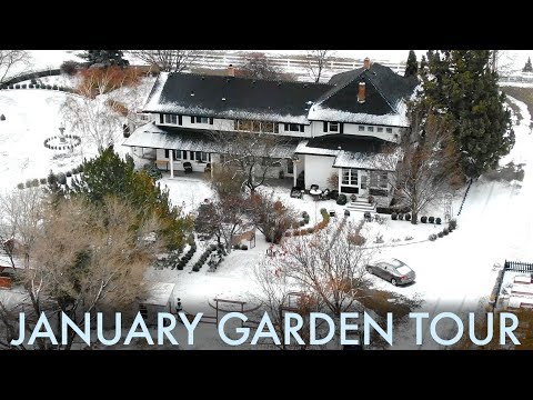 January Garden Tour ❄️ // Garden Answer
