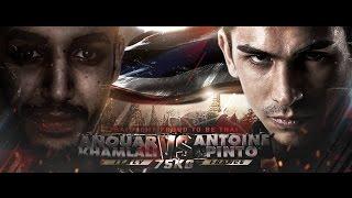 ANTOINE PINTO - FRANCE VS ANOUAR KHAMLALI - ITALY - THAI FIGHT PROUD TO BE THAI 2016