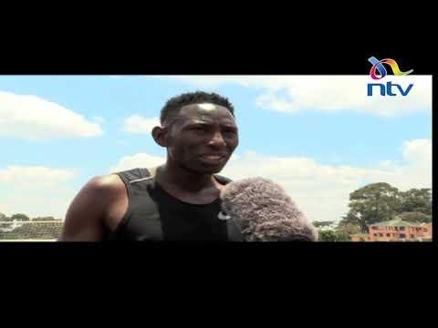 Conseslus Kipruto prepares for the world athletics in Doha, Qatar