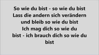 So Wie Du Bist   MoTrip (feat. Lary)  LYRICS | LYRIC GIRL