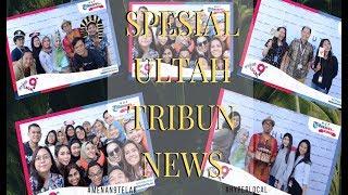 Rayakan Hari Jadi ke-9, Karyawan Tribunnews Ngantor Pakai Baju Pantai