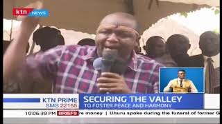 Communities from Baringo and West Pokot have vowed to live in peace with their Marakwet counterpart