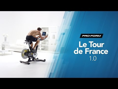 ProForm Tour de France TDF 1.0 Indoor Cycle - Presentation
