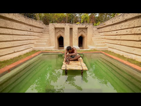 Dude Builds Crazy Underground Swimming Pool Out of Nature
