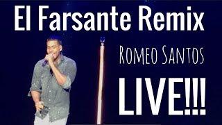 El Farsante Remix - Romeo Santos Live in London 2018!!!