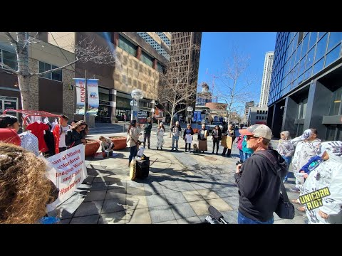 Denver:  Wet'suwet'en Solidarity Protest At Canadian Consulate