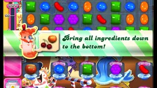 Candy Crush Saga Level 1568 walkthrough (no boosters)