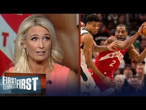 Kawhi was masterful in Game 5, Raptors take lead over Bucks - Kustok | NBA | FIRST THINGS FIRST