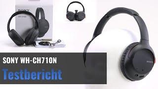 SONY WH-CH710N im Test - Bluetooth 5.0 Kopfhörer mit ANC - Lohnt es sich?