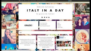 preview picture of video 'San Ten Chan per Italy in a Day di Gabriele Salvatores e la R.A.I.'