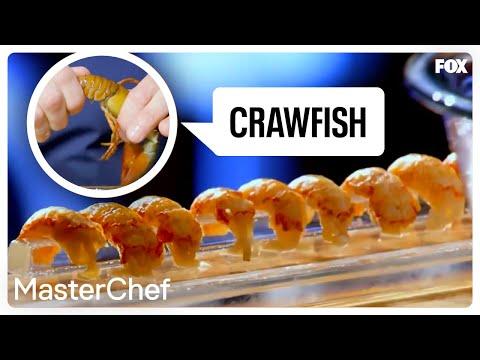 Gordon Ramsay Demonstrates How To Prepare Crawfish   Season 8 Ep. 12   MASTERCHEF