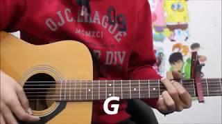 Tera Yaar Hoon Main   Arijit Singh   Hindi Guitar Cover Lesson Chords Easy Beginners