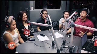 5thGen covers 'Tuloy Pa Rin' (Neocolours) LIVE on Wish 107.5 Bus