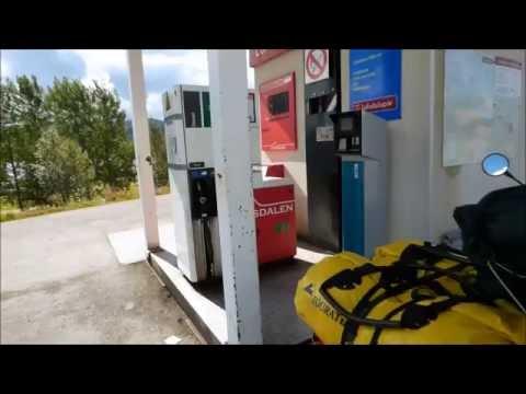 Der Aufwand des Benzins der Manipulator