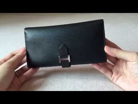 Hermes Bearn Tri-fold Wallet Review