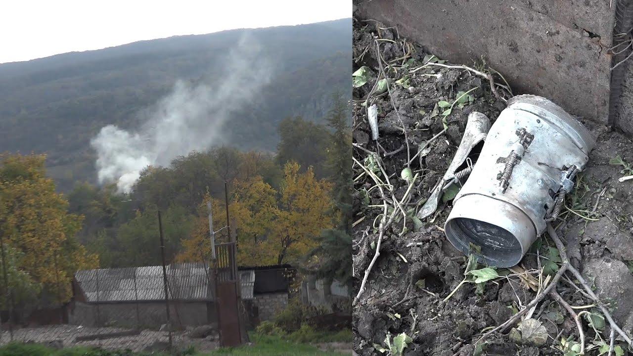 Թշնամին հրետակոծել է Սյունիքի մարզի Դավիթբեկ բնակավայրը