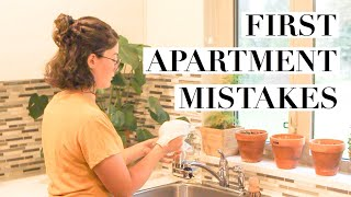 What To NOT Buy For Your First Apartment || MINIMALISM