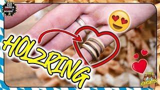 ❤️ Holzring zum Valentinstag ❤️ | Das perfekte Geschenk, ohne Drechseln.