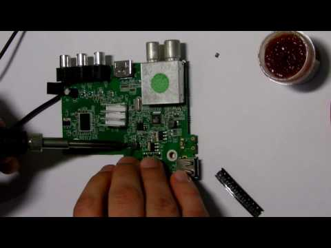Подробный ремонт ресивера DVB-T2 World Vision T34 не включается