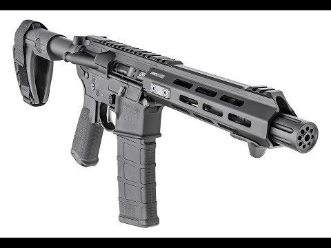 Springfield Armory's Saint AR-15 Pistol Packs A Punch
