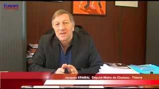 preview picture of video 'KRABAL Jacques Député Maire de Chateau - Thierry, présente le Paris-Alsace'