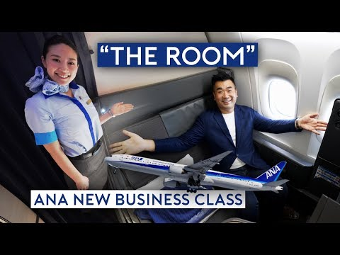 "BEST Business Class? ANA New Business Class ""The Room"""