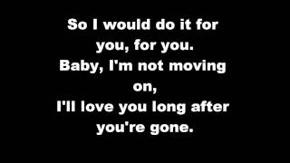 Phillip Phillips - Gone, Gone, Gone LYRICS