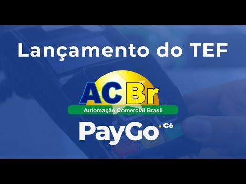 Lançamento do TEF ACBr PayGo
