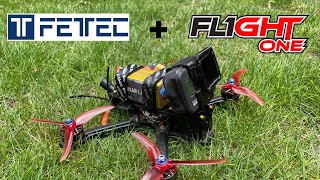 FETtec 4in1 45a + Flight One FalcoX are Juicy !!   FPV Freestyle  Drone   Sbang Sbang