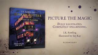Harry Potter And The Prisoner Of Azkaban Illustrated Edition Animated Book Trailer
