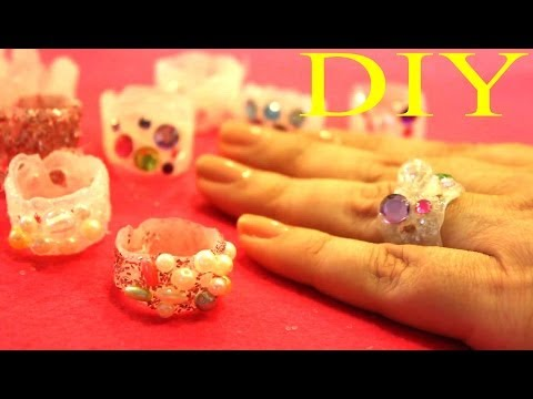 Anillos de Goma de Silicon - Hot Glue Rings
