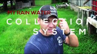 800+ Gallon Rain Water Collection System