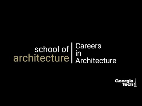 Bachelor of Science in Architecture | Careers in Architecture