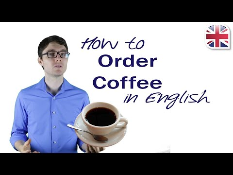 How to Order Coffee in English - Spoken English Lesson