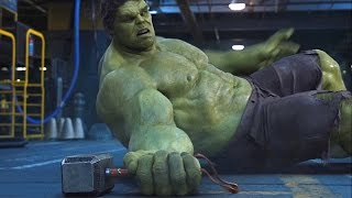 Gambar cover Thor vs Hulk - Fight Scene - The Avengers (2012) Movie Clip HD