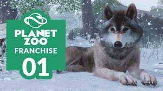 PLANET ZOO | EP. 01 - LAYING THE FOUNDATIONS (Franchise Mode Lets Play)