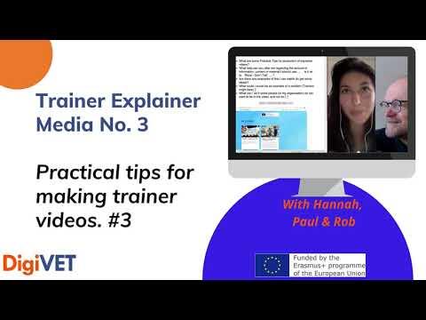 Q&A Trainer Video Making – No. 3