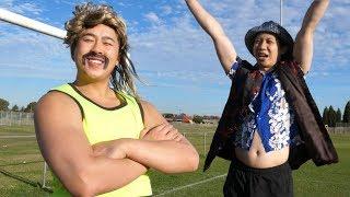 Aussie teaches Chinaman - SOCCER