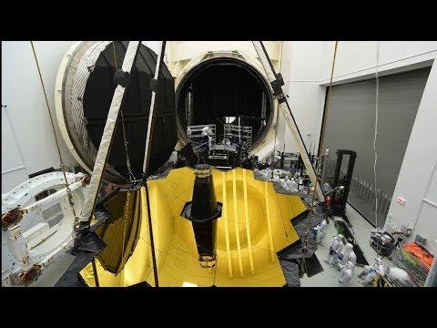 Testovanie Webbovho teleskopu v kryo komore