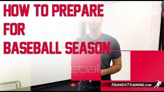How To Get Ready For Baseball Season - Preseason Conditioning