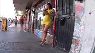 El Salvador   Tour calles del centro El colon Santa ana 4K