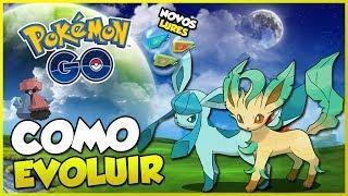 Leafeon  - (Pokémon) - LEAFEON E GLACEON CHEGARAM! (SAIBA EVOLUIR!), NOVOS LURES E MAIS! - Pokémon Go   PokeNews