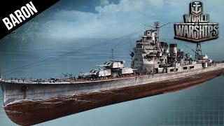 World of Warships - The Mighty Atago, Tier 8 Premium Japanese Cruiser!