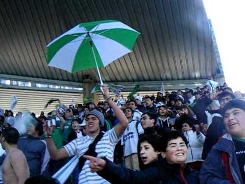 """""""LOS DEL SUR PUERTO MONTT v.s CATOLICA COPA CHILE 2010 CUARTO  GOL"""" Barra: Los del Sur • Club: Deportes Puerto Montt"""