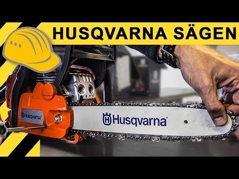 Kettensägenschein - wir holen unsere Kettensägen bei Husqvarna | 550 XP, 135, 536 XP