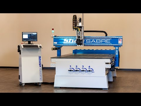 ShopSabre CNC – The IS Series Walk Around with Routerbobvideo thumb