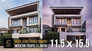 Video Hasil Konstruksi Rumah Ibu Sunny di  Depok, Jawa Barat