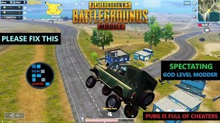 [Hindi] PUBG MOBILE | SPECTATING GOD LEVEL HACKERS(MODDERS) WHO KILLED US