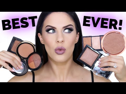 MUST HAVE BRONZERS!! | BEAUTY FAVORITES 2017!!